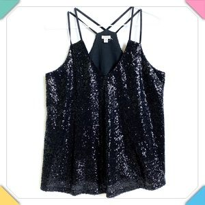 Guess Sequined Top